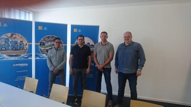 Alejandro Granado von Uniforce Guatemala mit deutschen Unternehmern