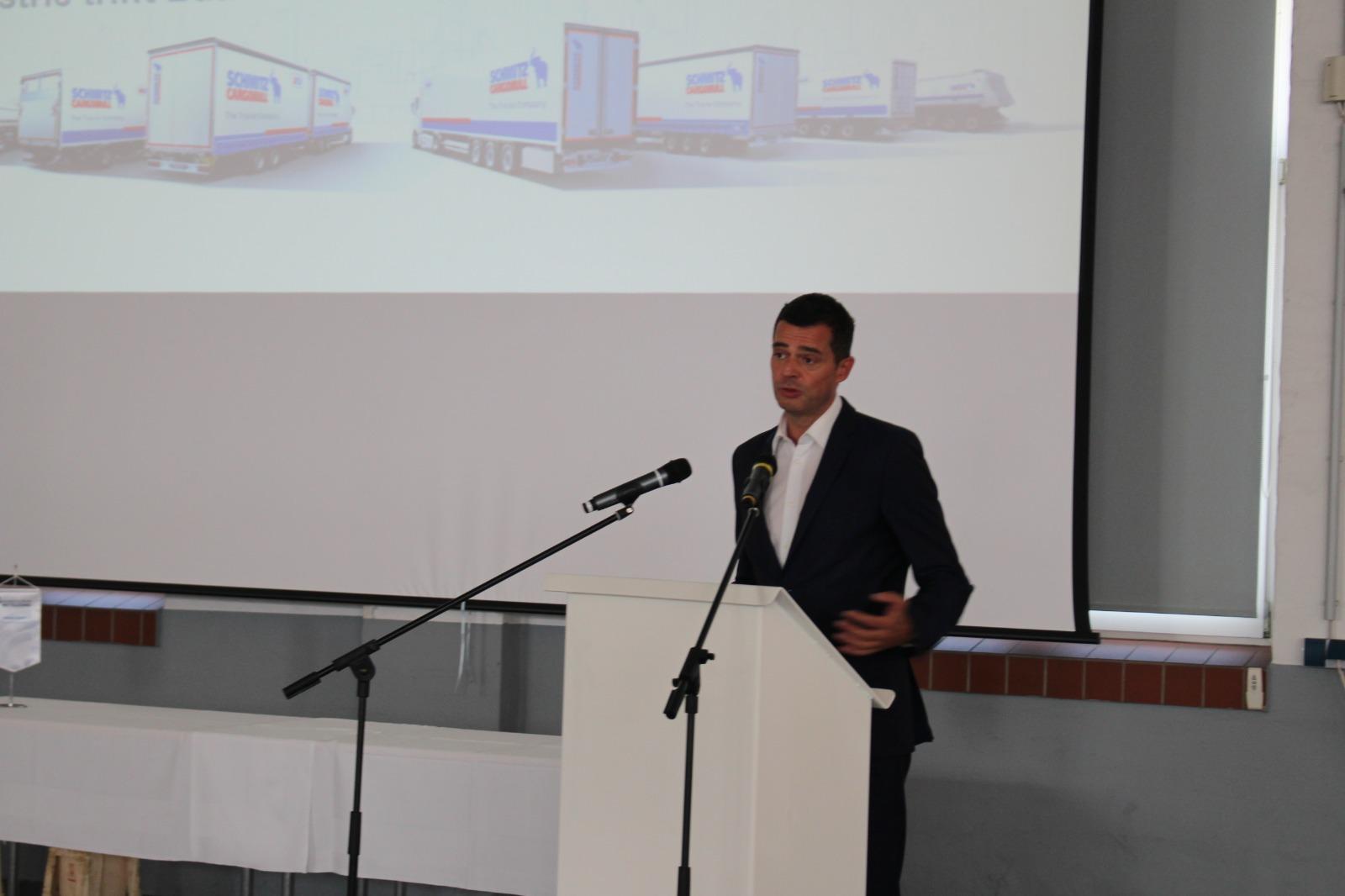 Der Landesvorsitzende der CDU Mike Mohring bei seiner Begrüßungsrede