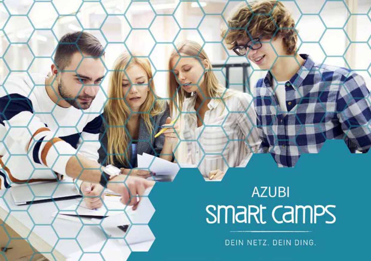 Azubi Smart Camp flyer