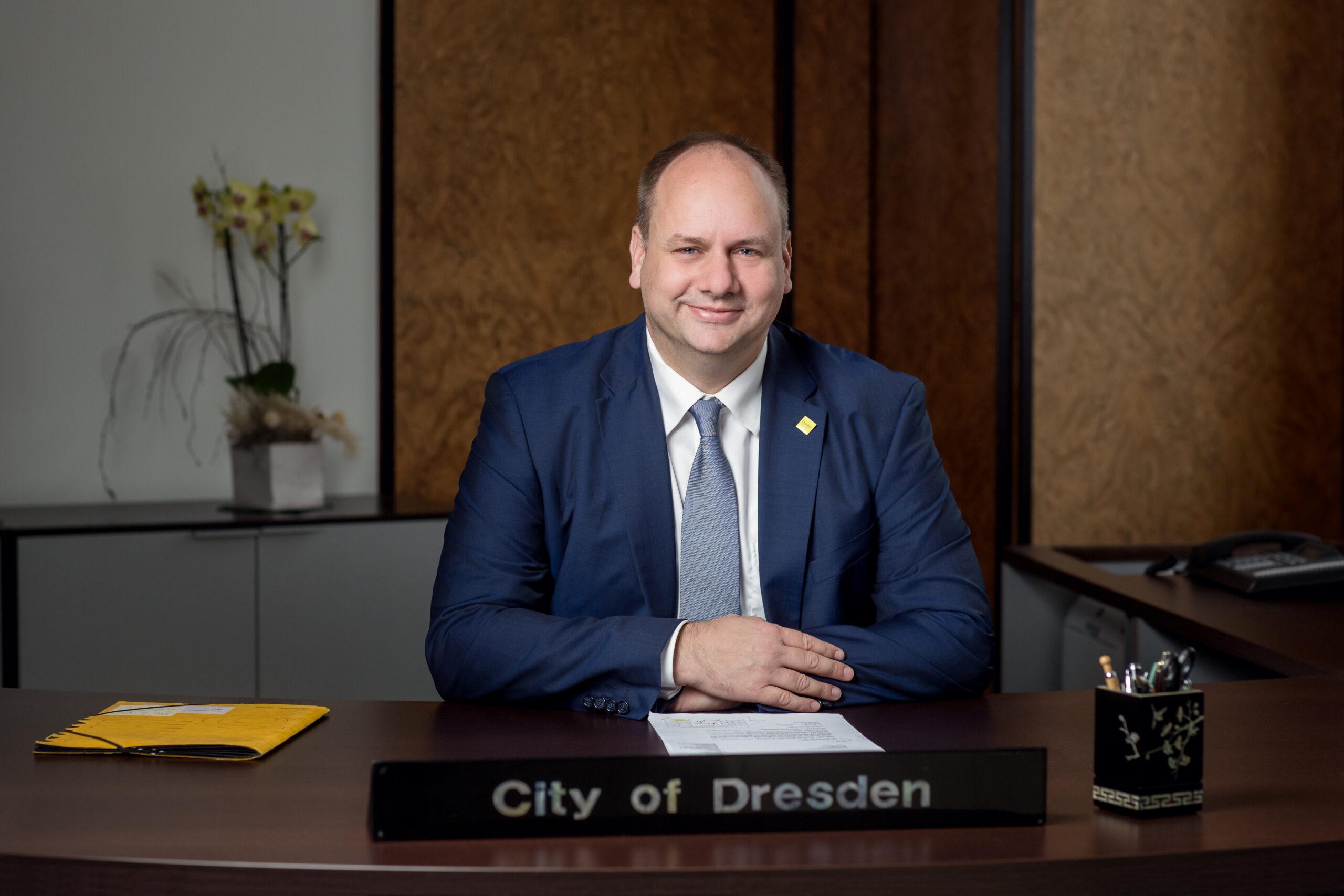 Bürgermeister Hilbert